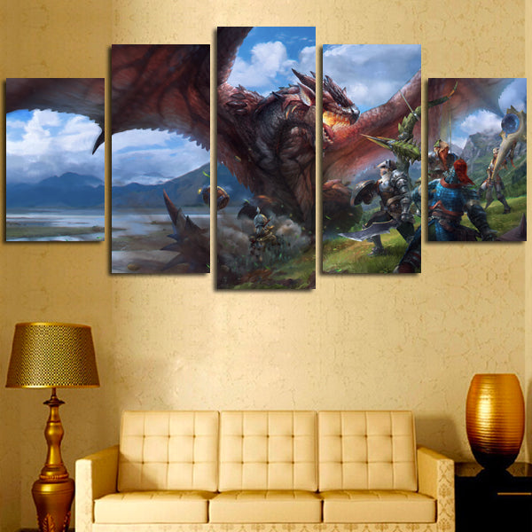 Amazing Three Panel Canvas Wall Art Pattern - Wall Art Collections ...