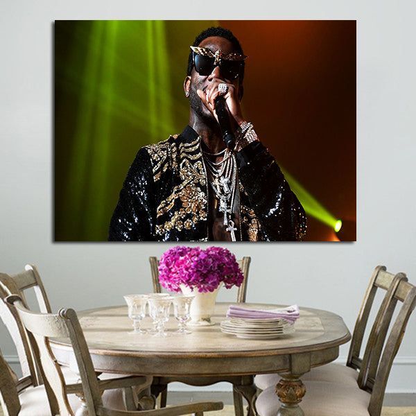 1 Panel Gucci Mane Singing Wall Art Canvas