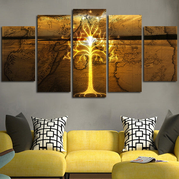 The Lord Of The Rings Wall Art Canvas