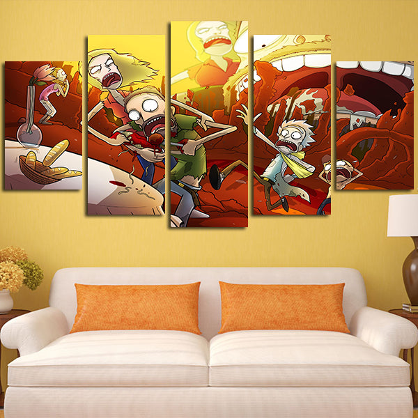Beautiful Family Wall Art Canvas Model - Wall Art Design ...