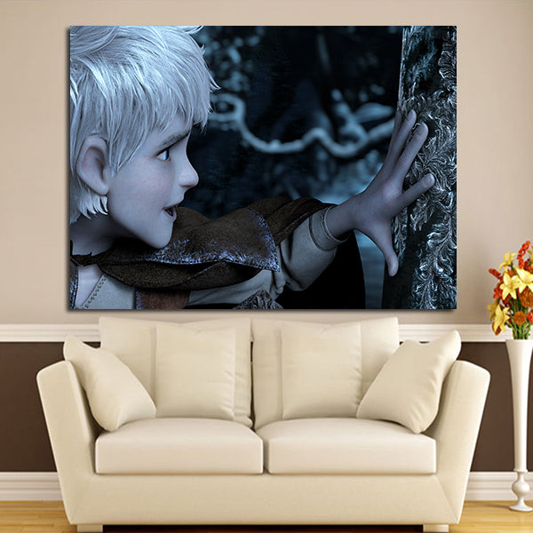 1 Panel Jack Frost Touch Tree Ice Wall Art Canvas