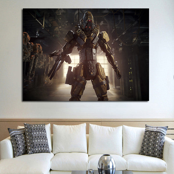1 Panel Call Of Duty Black Ops III Reaper Wall Art Canvas