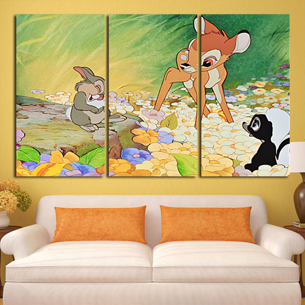 Charming Disney Canvas Wall Art Images - The Wall Art Decorations ...