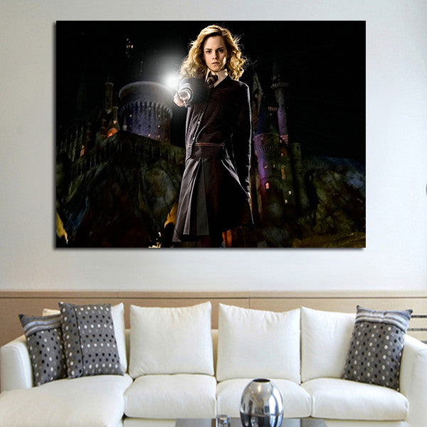 1 Panel Hermione Granger Wall Art Canvas
