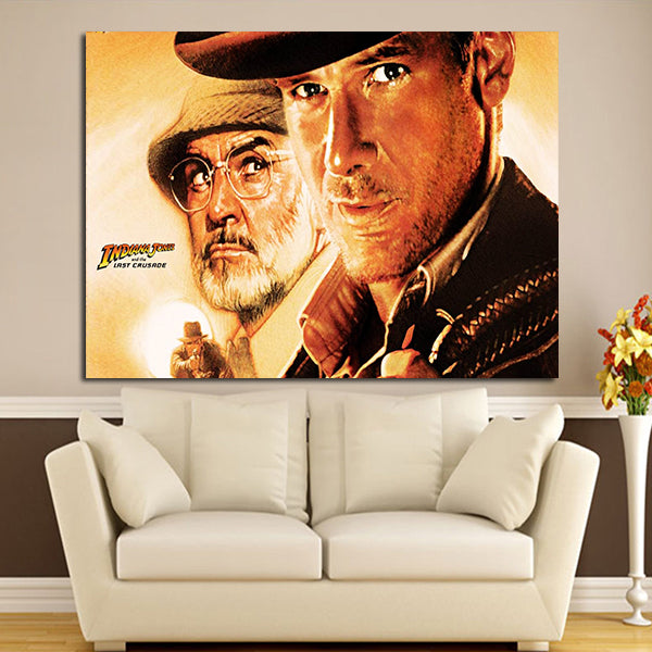 1 Panel Indiana Jones And The Last Crusade Wall Art Canvas
