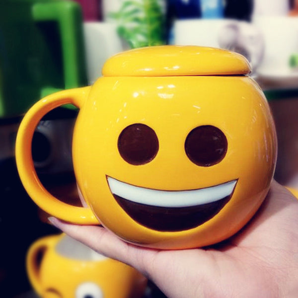 Cute Emoji Ceramic Mug