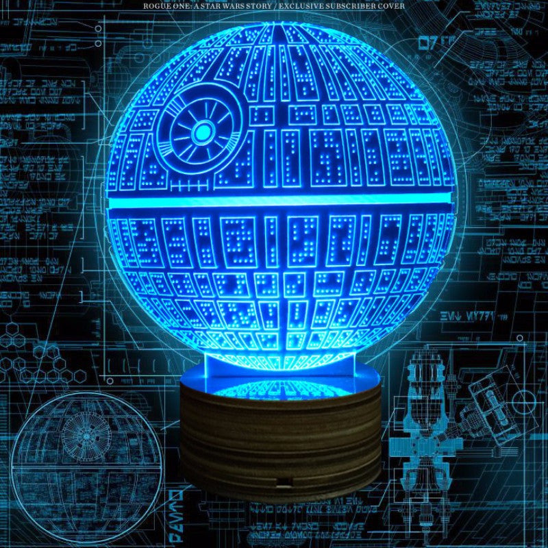 Great Star Wars The Force Awakens Death Star Lamp