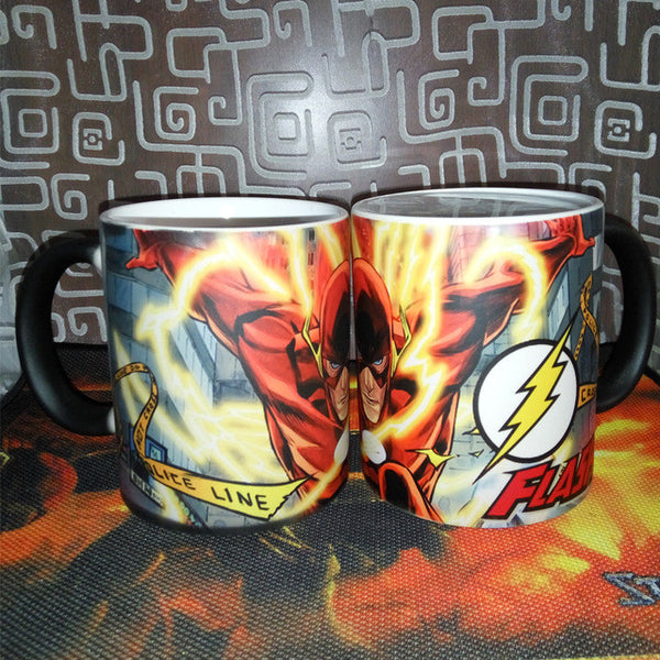 Magic The Flash Changing Color Mug