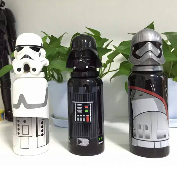 New Creative Stainless Steel Thermos Portable Bottle Vacuum Star Wars Mug