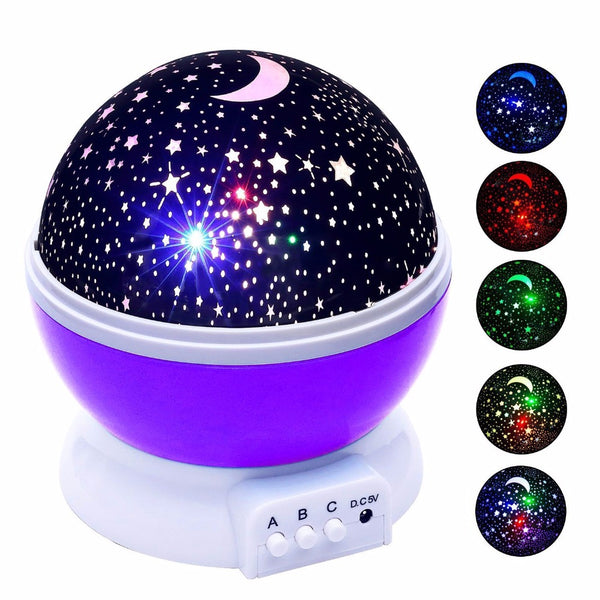Stars Starry Sky LED Night Light Projector Lamp