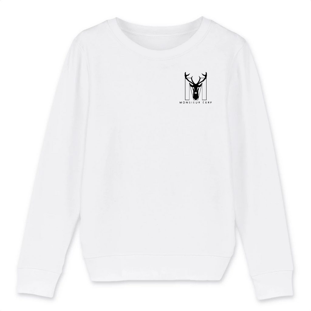 Sweat Enfant coton BIO - Monsieur Cerf