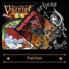 Band Merch - Patches