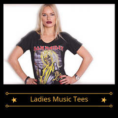 Ladies Music Tees