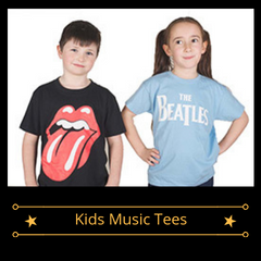 Kids Music Tees