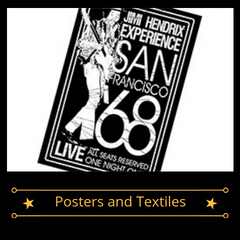 Band Merch - Posters and Textiles