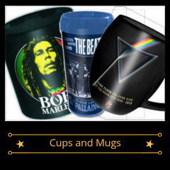 Band Merch - Cups and Mugs
