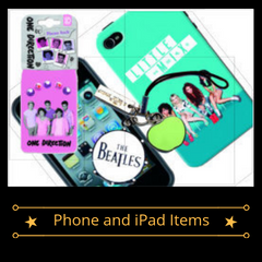 Band Merch - Phone and iPad Accessories