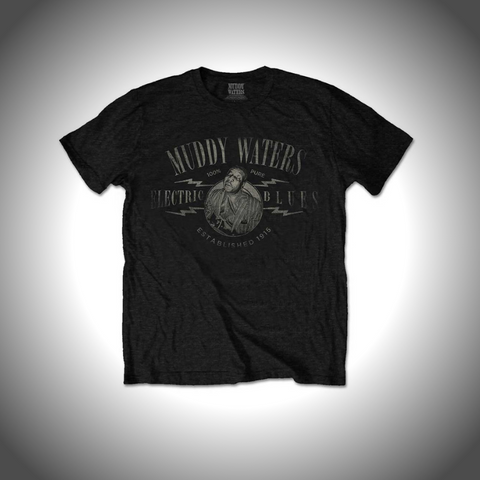 MUDDY WATERS MEN'S TEE: ELECTRIC BLUES VINTAGE