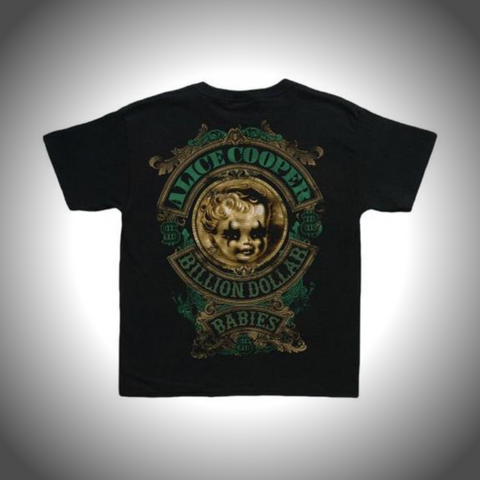 ALICE COOPER KIDS TEE: BILLION DOLLAR BABY