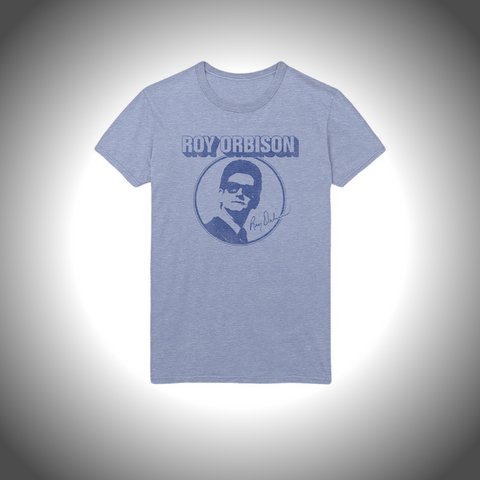 ROY ORBISON MEN'S TEE: PHOTO CIRCLE