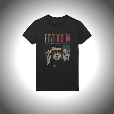 ROY ORBISON MEN'S TEE: PRETTY WOMAN