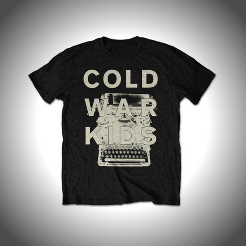 COLD WAR KIDS MEN'S TEE: TYPEWRITER