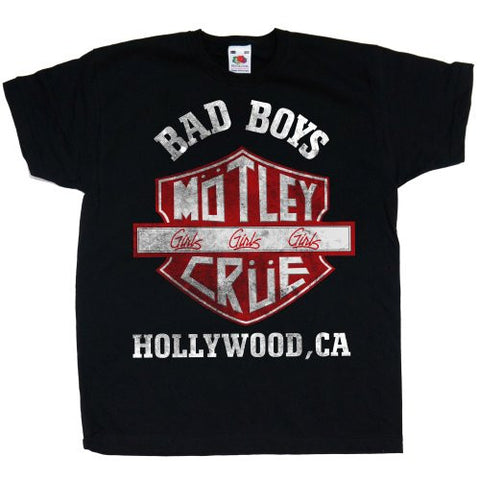 MOTLEY CRUE KIDS TEE: BAD BOYS SHIELD