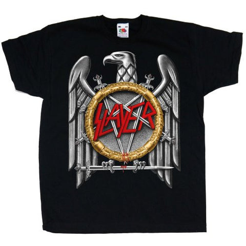 SLAYER KIDS TEE: SILVER EAGLE