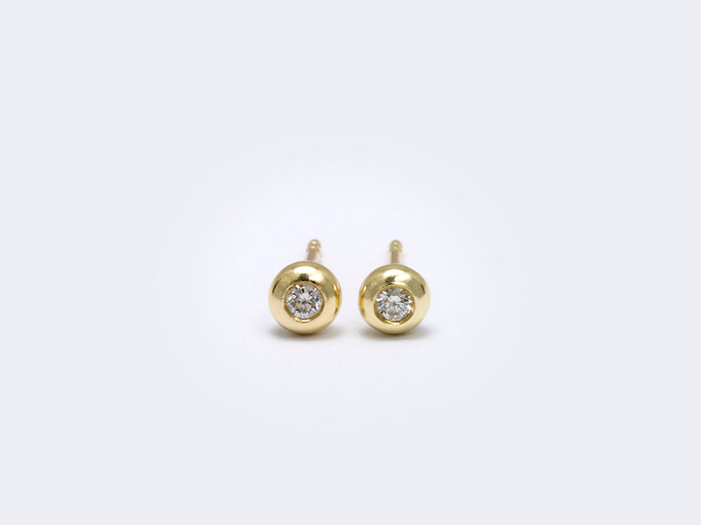 Sufganiyah earrings