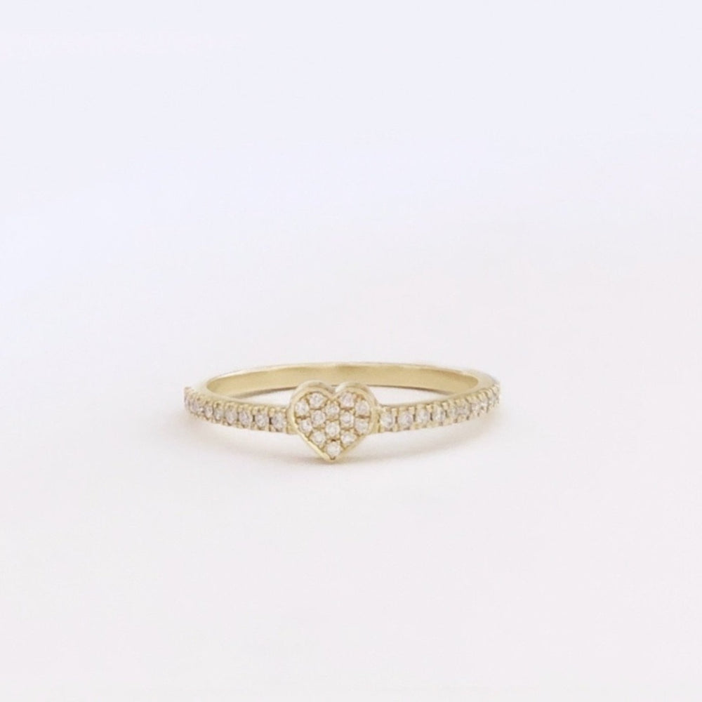 53.5Eu Diamonds Heart ring To Go