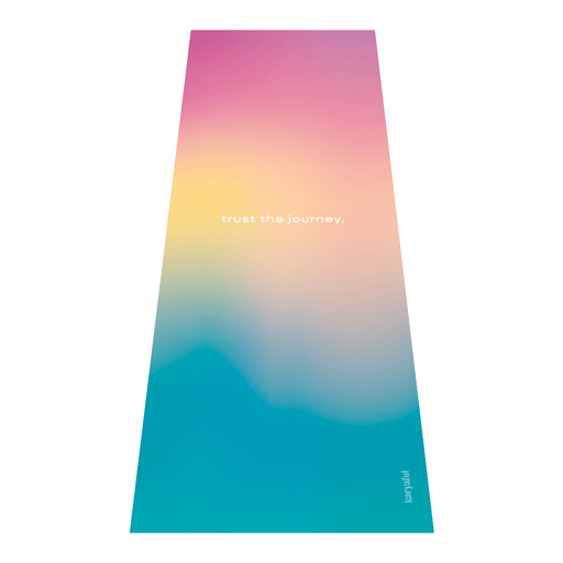 Trust The Journey Yoga Mat
