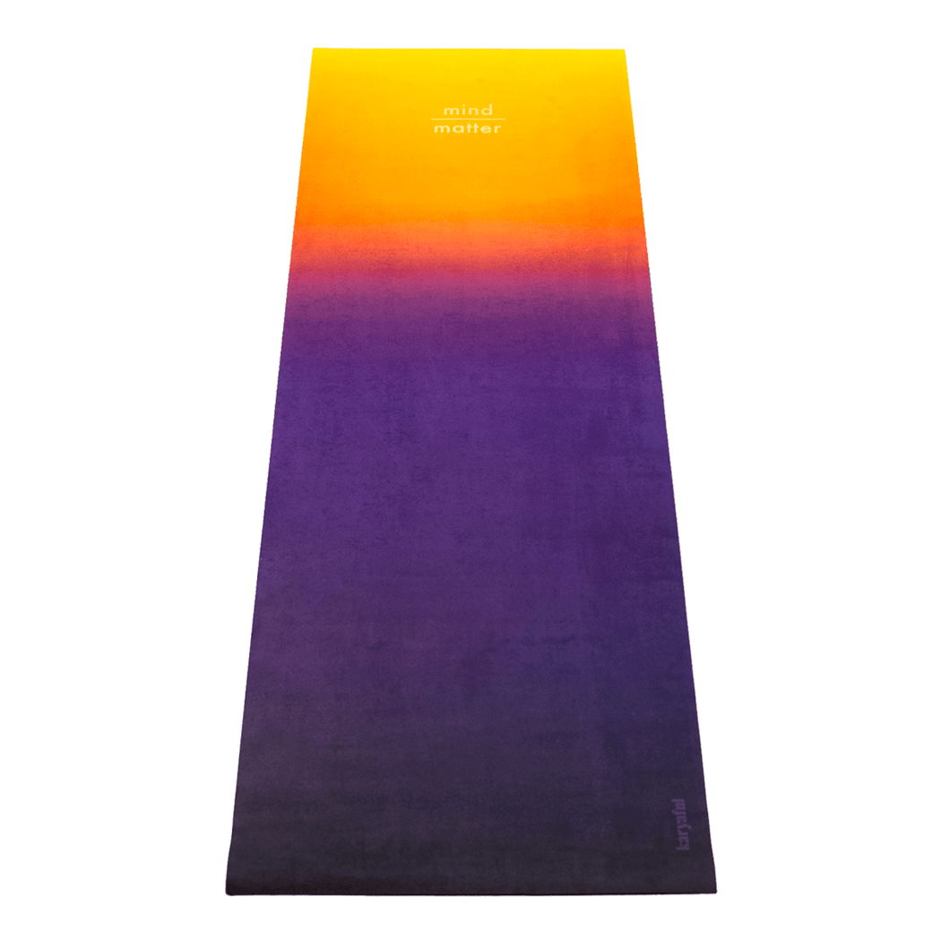 Mind Over Matter Yoga Mat by Karyaful