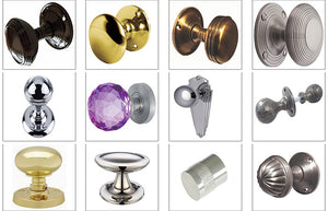 Door Knobs in a Large Range of Designed Collections