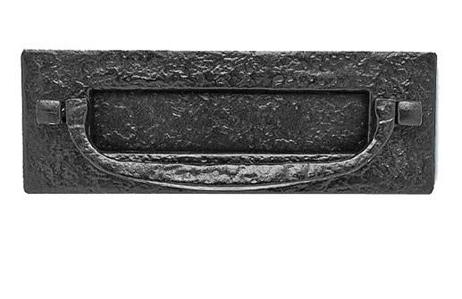 JAB46 Black Antique Postal Knocker