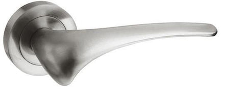 Marseille Satin Nickel Door Handles M70SN