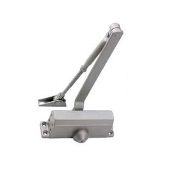 Budget Size 3 Overhead Door Closer - Silver