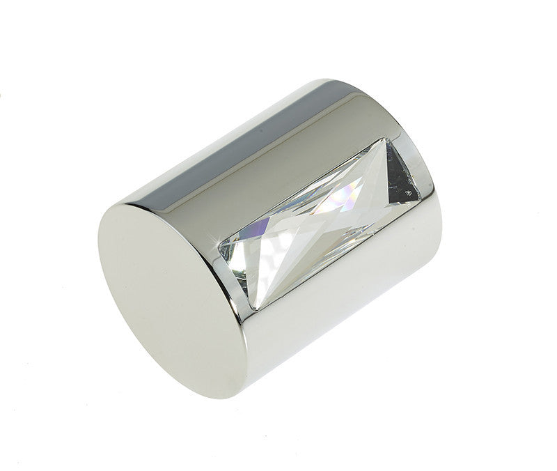 Swarovski Cylindrical Oblong Crystal Jewel Mortice Door Knobs - 2015