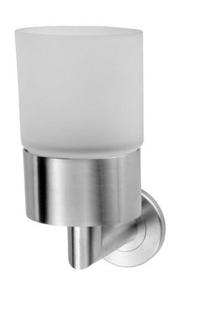 LX12SS DeL'eau Single Tumbler Holder Stainless Steel
