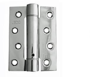 Polished Stainless Steel Single Action Spring Hinges