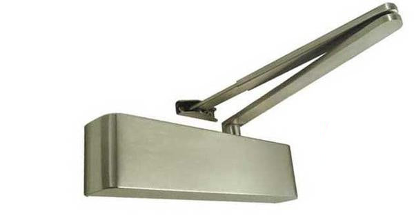 Slimline Architectural Size 2-5 Overhead Door Closer - Silver