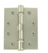 4 Inch Satin Nickle, Grade 11 Fire Rated, Ball Bearing Hinges