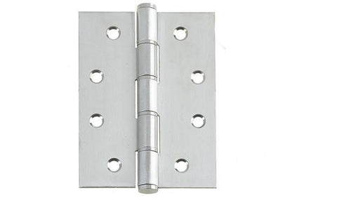 4 Inch Satin Stainless Steel Washered Hinges