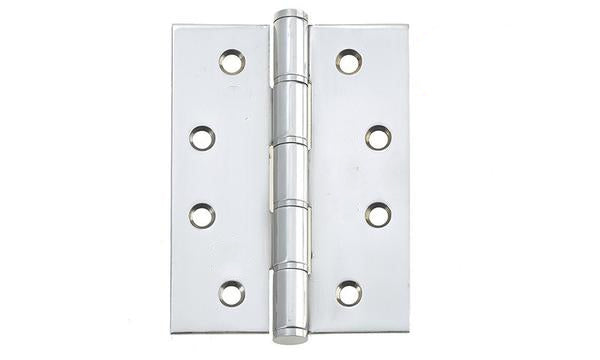 4 Inch Polished Stainless Steel Washered Hinges