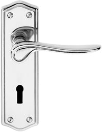 63001 STELLAR LOCK - BRITISH STANDARD POLISHED CHROME