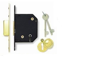 MGBD1 British Standard Insurance Rated 5 lever Dead Lock