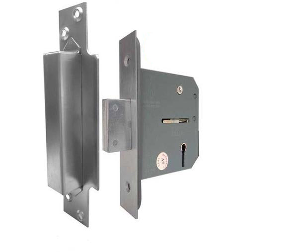 Architectural 3 Lever Mortice Deadlock