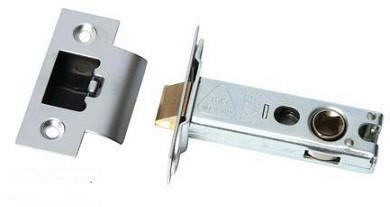 Popular Double Sprung Mortice Latch - DHUK121, SATIN, CHROME, BRASS - Fire Door Approved