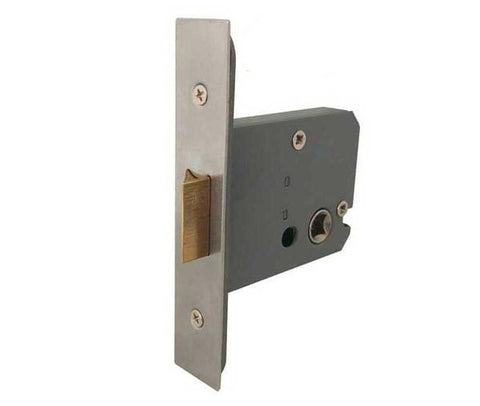 CE Rated Heavy Double Sprung Mortice Latch - Fire Door Approved