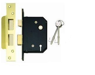 MGBS1 British Standard Insurance Rated 5 Lever Sash Lock