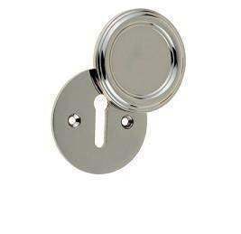 JV605PN Polished Nickel Parisian Covered Keyhole